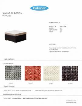 Babmar - Tuscano Sofa Set (Swing 46 Design) - Image 13