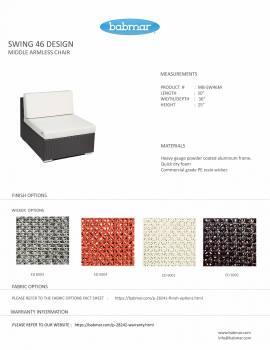 Babmar - Tuscano Sofa Set (Swing 46 Design) - Image 14