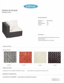 Babmar - Lucca Large Sofa Set (Swing 46 Design) - Image 7