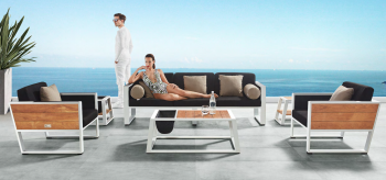 Shop By Category - Babmar - Mykonos Sofa Set With Side Tables