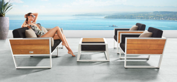 Shop By Category - Outdoor Seating Sets - Babmar - Mykonos Sofa Set