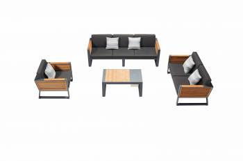 Shop By Collection - Avant Collection - Babmar - AVANT 6 SEATER SECTIONAL SOFA SET
