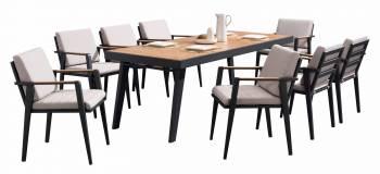 Babmar - Onyx Dining Set For 8 - Image 4
