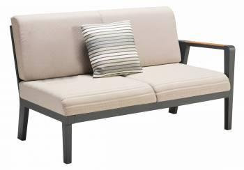 Individual Pieces - Babmar - Onyx Right Arm Sofa