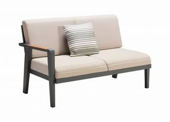 Individual Pieces - Babmar - Onyx Left Arm Sofa