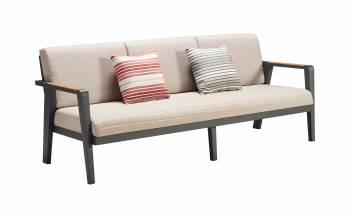 Individual Pieces - Babmar - Onyx 3 Seater Sofa