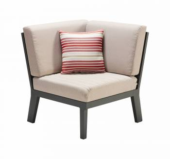 Individual Pieces - Babmar - Onyx Corner Chair