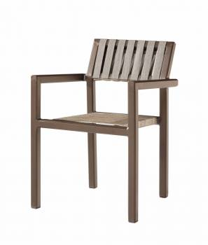 Individual Pieces - Dining Chairs - Amber Dining Chair with Arms - Quick Ship