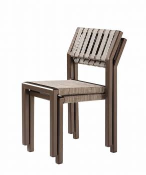 Amber Armless Dining Chair - Quick Ship - Image 2