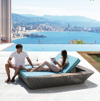 Verona Double Beach Bed