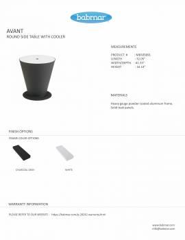 Babmar - Avant Swivel Chair Set For 2 -QUICK SHIP - Image 4