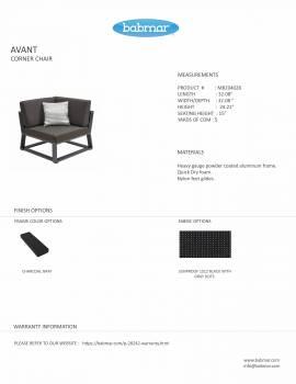 Babmar - AVANT CORNER CHAIR - Image 2