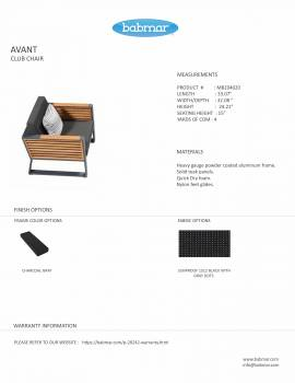 Babmar - AVANT CLUB CHAIR - Image 2