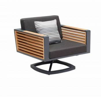 Shop By Collection - Avant Collection - Babmar - AVANT SWIVEL CLUB CHAIR