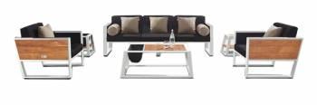 Babmar - Mykonos Sofa Set With Side Tables
