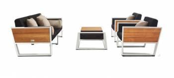 Shop By Collection - Mykonos Collection - Babmar - Mykonos Sofa Set