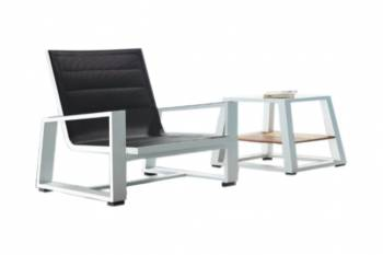 Shop By Collection - Mykonos Collection - Mykonos Mesh Chair And Side Table - QUICK SHIP