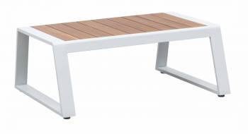 Shop By Category - Babmar - AVANT RECTANGULAR COFFEE TABLE WITH ALL TEAK TOP