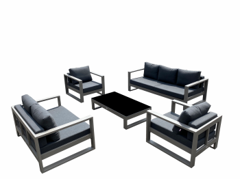 Amber Sofa Set with Loveseat - QUICK SHIP