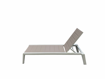 AVANT CHAMPAGNE STACKABLE CHAISE LOUNGE -QUICK SHIP