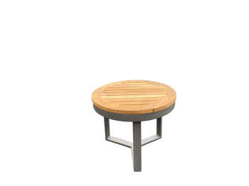 Amber Grey Short Side Table - QUICK SHIP
