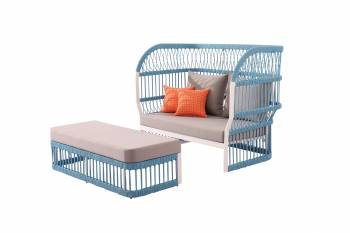 Shop By Collection - Seattle Collection - Seattle High Back Daybed With Ottoman