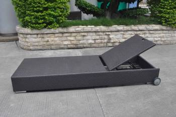 Package Deals - Outdoor Chaise Lounges - Babmar - Mandarin Chaise Lounge with Wheels