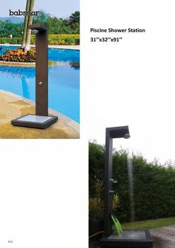 Babmar - Piscine Outdoor Shower - Image 4