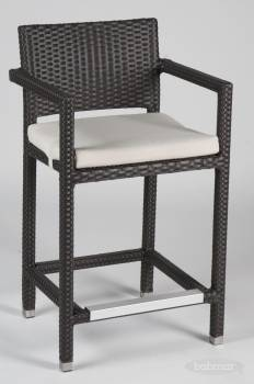 Individual Pieces - Barstools - Babmar - Vertigo Counter Height Stool with Arms