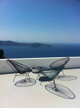 Santorini Chair -All White
