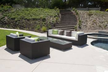 Outdoor Furniture Sets And Quick Ship Items - Outdoor Sofa & Seating Sets - Babmar - Terrazza Sofa Set (Swing 46 Design)