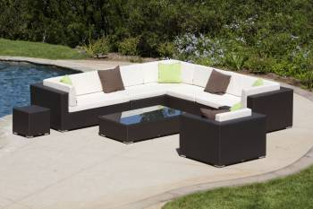 Babmar - Swing 46 Sectional Sofa Set with Club Chair - Image 2