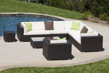 Babmar - Swing 46Sectional Sofa Set with Club Chair - Image 5