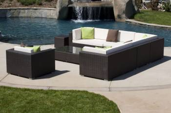 Babmar - Swing 46 Sectional Sofa Set with Club Chair - Image 3