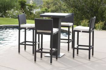 Outdoor Furniture Sets And Quick Ship Items - Babmar - Florio Bar Set Without Arms