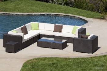 Swing 46 Sectional Sofa Set with Club Chair