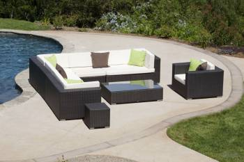 Babmar - Swing 46Sectional Sofa Set with Club Chair - Image 9