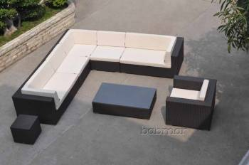 Babmar - Swing 46Sectional Sofa Set with Club Chair - Image 7
