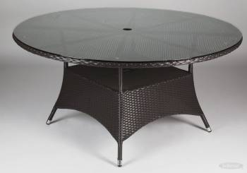 Rodondo Outdoor Dining Set For Nine