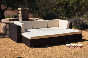 Outdoor Furniture Sets And Quick Ship Items - Outdoor Sofa & Seating Sets - Babmar - Tuscano Sofa Set (Swing 46 Design)