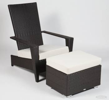 Martano Stackable Chair with Ottoman - Image 2