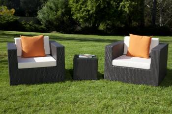 Outdoor Furniture Sets - Outdoor Sofa & Seating Sets - Swing 46 Club Chair Set for 2