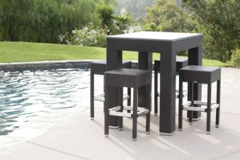 Outdoor Furniture Sets - Babmar - Pandora Bar Set For Four