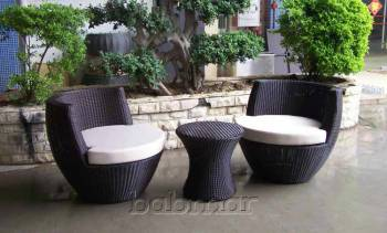 Outdoor Furniture Sets - Outdoor Sofa & Seating Sets - Babmar - Obsidian Chair Set