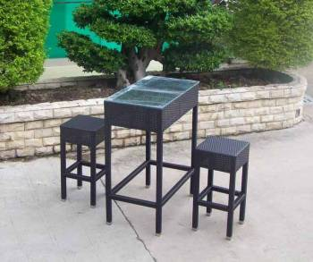Outdoor Furniture Sets - Outdoor Bar Sets - Babmar - Bimini Bar Set