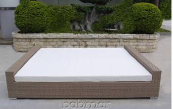 Flatiron Rectangular Sun Bed