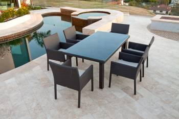 Outdoor Furniture Sets - Outdoor  Dining Sets - Bella Dining Set For Six