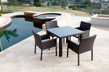 Outdoor Furniture Sets And Quick Ship Items - Outdoor  Dining Sets - Bella Dining Set For Four