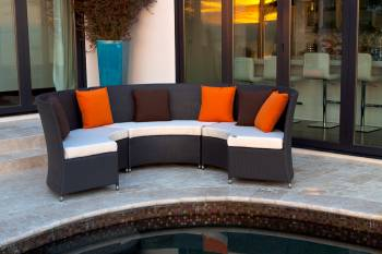 Outdoor Furniture Sets - Outdoor Sofa & Seating Sets - Rodondo Seating Set For Six