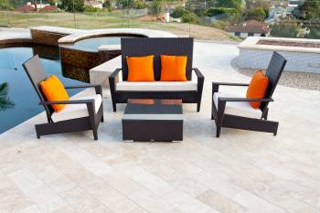 Outdoor Furniture Sets - Outdoor Sofa & Seating Sets - Martano Loveseat Set